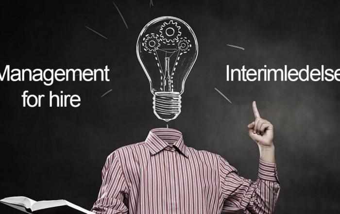 interimledelse eller management for hire